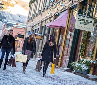 Shops in Aspen