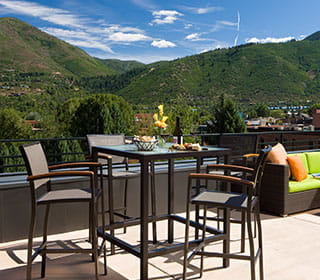 Limelight Hotel Aspen Scenic Rooftop Terraces