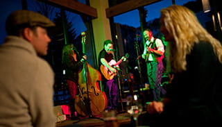 Live music at the Lounge at Limelight Hotel Aspen