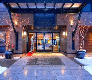 Limelight Aspen Hotel Entrance