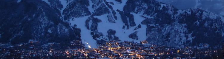 Aspen at Night - Ski Runs | Limelight Hotels | Aspen
