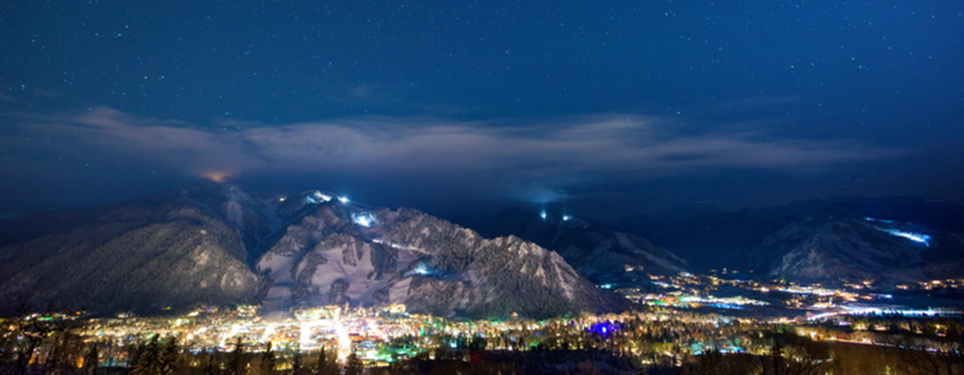 Aspen at Night - Lights on the Hill | Limelight Hotels