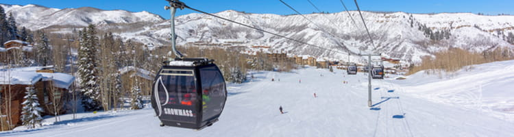 The Silver Queen Gondola at Aspen Snowmass | Limelight Hotels | Aspen